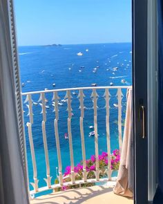 Travel Discover Beautiful morning view in Positano Italy . Beautiful morning view in Positano Italy Video via: . Vacation Places, Italy Vacation, Dream Vacations, Italy Travel, Vacation Travel, Places In Italy, Places To Go, Europe Destinations, Amalfi Coast Italy