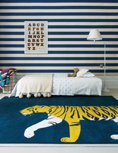 Tiger - Bright rugs - Contemporary Rugs - Shop Collection The Rug Company Tiger Rug, Laundry Room Rugs, Animal Rug, Ideas Hogar, Rug Company, Hand Tufted Rugs, Modern Area Rugs, Contemporary Rugs, Boy Room