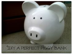 How to DIY a perfect piggy bank
