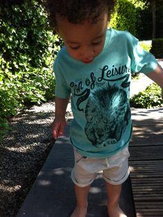 Reza in #Lionofleisure #Kidsfashion #Kindermodeblog #Lion #Summer2014