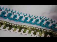 Crochet Edging Patterns, Crochet Borders, Friendship Bracelets, Youtube, Jewelry, Crochet Dishcloths, Crochet Decoration, Crochet Edgings, Needlepoint