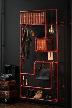 Plumber shelves