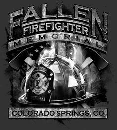 fallen firefighter tee