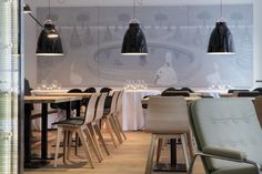 Wine studio restaurant HE's. Riga.