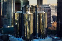 "The Westin Bonaventure Hotel and Suites, Los Angeles. Located in the heart of downtown Los Angeles, this hotel is an iconic landmark in the ""City of Angels.""  #travel  #california"