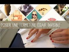 Coudre une fermeture éclair invisible | Filoute #couture #tuto
