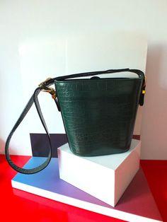 FRANCESCO ROGANI bucket bag Green  Bucket Bag  by Lucillesandcop