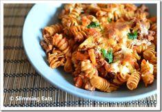 Bolognese Pasta Bake | Slimming Eats - Slimming World Recipes - add a dash of cinnamon.