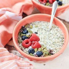 Begin your day this fall and winter with a tasty bowl of Coconut Hemp Porridge. Grain-free, sugar-free, and so full of healthly fibre, protein and omegas!