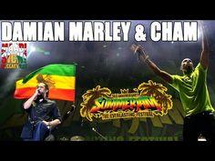 Damian Marley & Cham - Fighter @SummerJam 2015 - YouTube