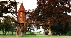 Dream home.  real life tree houses -- people actually live in these incredible structures and I am sooo jealous. Who knew an object of child...