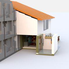LEGO IDEAS - Steven Universe's Beach House Lego Steven Universe, Build My Own House, Lego Ideas, Beach House, Home Decor, Beach Homes, Decoration Home, Room Decor, Interior Design