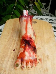 Severed Foot Cake