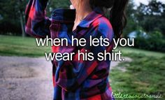 Dear future boyfriend,  Please let me wear your clothes.  Thanks.  Love, Cassidy