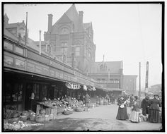 City Market - KC, MO  - Looks a little different now. This was taken in 1906