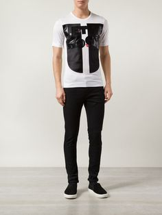 VIVIENNE WESTWOOD printed patched T-shirt