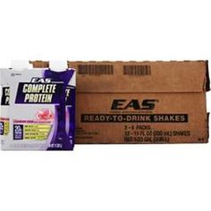 Better Quality 2 Save U More!  EAS Complete Protein RTD  1-2 or 3 x 12 bttls or 11 fl oz #EAS