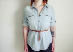Five ways to wear a Chambray Shirt