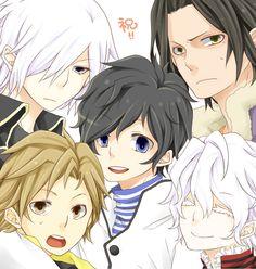 Tags: Atlus, Shin Megami Tensei: Devil Survivor 2, Kuze Hibiki, Hotsuin Yamato, Shijima Daichi, Kuriki Ronaldo, Alcor, Pixiv Id 3239010