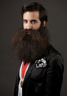 Americano leva o título mundial de melhor barba e bigode