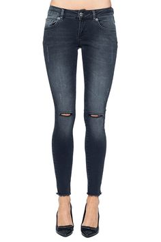 anine bing/ Crazy For Slashed Denim! 6 Styles To Shop Now