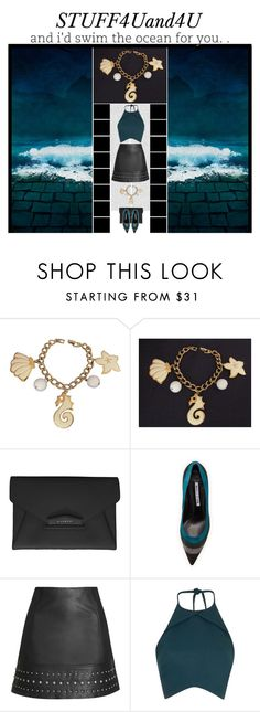 """stuff4uand4u (12)"" by irresistible-livingdeadgirl ❤ liked on Polyvore featuring Oris, Napier, Givenchy, Manolo Blahnik, Topshop, Rebson, charmbracelet, manoloblahnik, colorblock and stuff4uand4u"