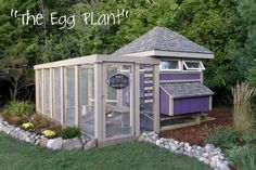 Love everything about this chicken coop/run...