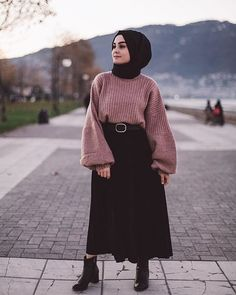 You can also contact us for your personal recordings.The particular scarf is a vital item from the outfits of Modern Hijab Fashion, Street Hijab Fashion, Muslim Fashion, Modest Fashion, Fashion Outfits, Hijab Casual, Hijab Chic, Modest Outfits, Casual Outfits
