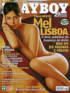 Playboy Brazil August 2004 Cover featured by Mel Lisboa