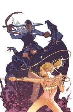 Teen Titans #88 by Adam Hughes