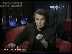 """Raphael en TV de Moscu (Rusia) - Рафаэль в """"Ночном времечке"""" с А.Максимо..."""