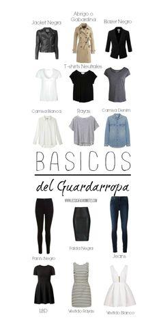 BASICOS EN DEL GUARDARROPA- ARMARIO