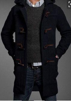 Stitch Fix for Men October 2016 - fantastic black wool toggle winter coat
