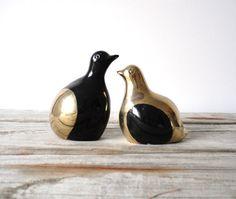 Modern Brass Love Birds