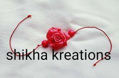 """@shikha_kreations: """"#handmaderakhi #festivemood #rakhi #siblinglove #floral #handmade #handmadeislove #clayrakhi…"""" Handmade Rakhi, Clay, Band, Floral, Accessories, Clays, Sash, Flowers, Bands"""