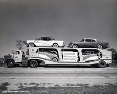 Transporter of the Day  1954 Buicks          Actually 55 Buick Special and Century