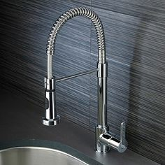 kitchen tap Kitchen Spray Taps, Kitchen And Bath, Scandinavian Kitchen, Paris Apartments, Cool Kitchens, Faucet, Household, Sink, New Homes