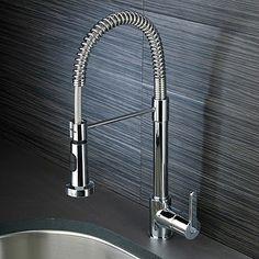 kitchen tap Kitchen Spray Taps, Kitchen And Bath, Scandinavian Kitchen, Paris Apartments, Cool Kitchens, Faucet, Household, New Homes, Sink