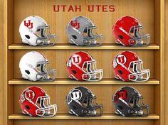NCAA Utah Utes Team Post Earrings