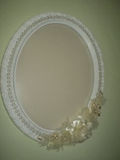 Wedding Picture Frame-Victorian Frame by HighlandCottageArts