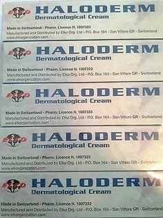cool Haloderm 5 Pieces Dermatological Cream 30g Fast Action ELKO GROUP - For Sale Check more at http://shipperscentral.com/wp/product/haloderm-5-pieces-dermatological-cream-30g-fast-action-elko-group-for-sale/