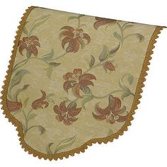 Decorative #chair back lace trim #tropical floral #furniture cover antimacassar,  View more on the LINK: http://www.zeppy.io/product/gb/2/311446189968/