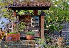 林の中のCAFE&GARDEN玄蕃ファーム