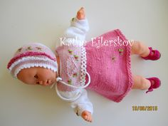 Baby Corolle  30 cm. opskrift nr. 5.