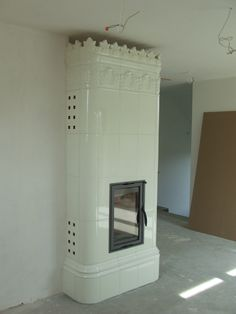 Tiled stove Marcus ,Hand-made ceramic stove tiles from kaflarnia.com -manufactory with 125 years tradition.