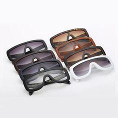 Feminine Shield Oversized Sunglasses – LoomRack