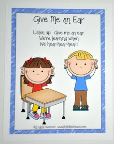 Give Me An Ear Poster - Click Image to Close