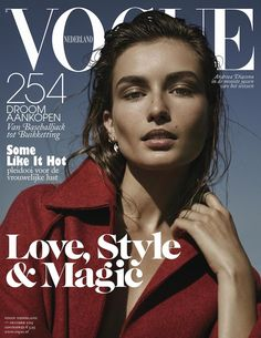 Vogue's october issue is now available. Click on the image to read more.