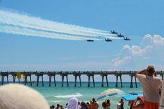 air shows pensicola florida | ... in Pensacola, Florida~: Pensacola Beach Blue Angels Air Show 2012