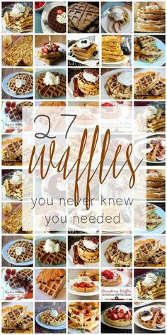 Best Waffle Recipes Collection